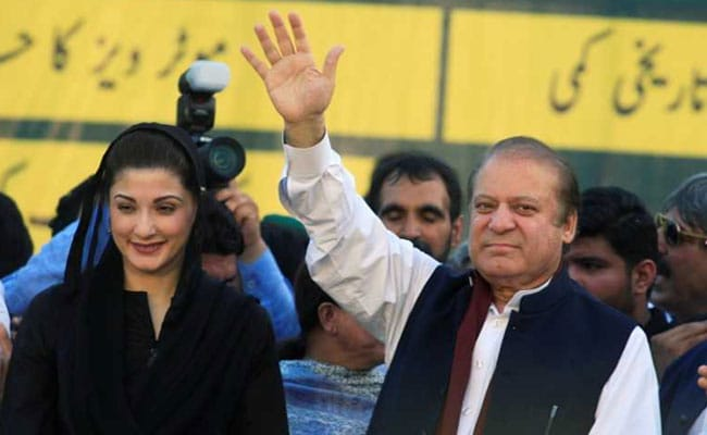nawaz sharif maryam reuters