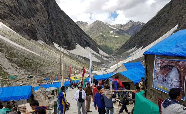 Over 1 Lakh Pilgrims Visit Amarnath Shrine In 14 Days