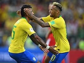 FIFA WORLD CUP: नेमार के गोल की खुशी मनाते हुए कंधा चोटिल कर बैठीं उनकी बहन राफेला