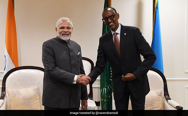PM Modi Charts Out 10 Principles Of India's Outreach To Africa
