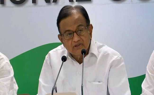 'Serious Misgivings' About Centre's Lateral Entry Ads, Says P Chidambaram