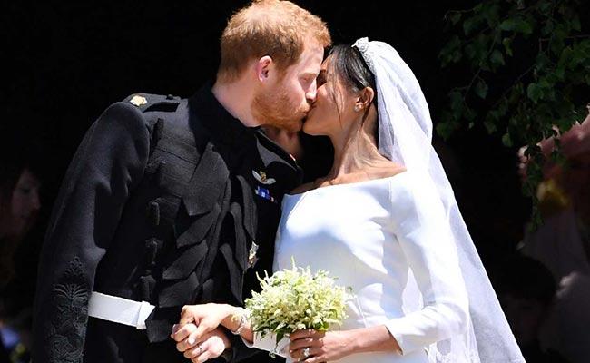 prince harry meghan markle royal wedding afp
