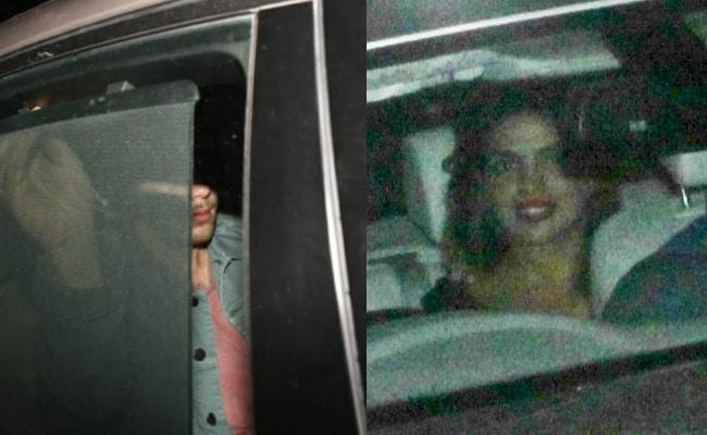 अमेरिकी सिंगर के साथ इंडिया आईं प्रियंका चोपड़ा, कैमरे के सामने कुछ ऐसे छुपीं