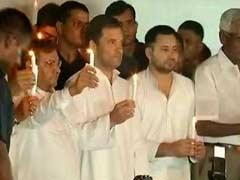 भ्रष्टाचार के मुद्दे से ध्यान बंटाने के लिए जंतर मंतर पर जुटे थे नेता : नीतीश कुमार