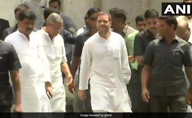 RSS मानहानि के मामले में आरोप तय होने के बाद राहुल गांधी बोले- अमीर लोगों की सरकार चल रही है