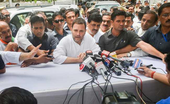 राहुल गांधी के आरोपों पर BJP का पलटवार, कहा- अब हाल-चाल पूछने पर भी राजनीति