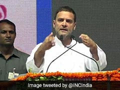 """Poisonous Politics"": Rahul Gandhi On Dalit Boys Being Paraded Naked"
