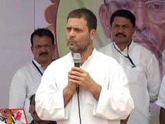 Rahul Gandhi Effect: BJP On Congress's