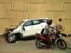 दिल्ली-गुरुग्राम एक्सप्रेसवे पर तेज रफ्तार SUV पलटने से व्यक्ति की मौत