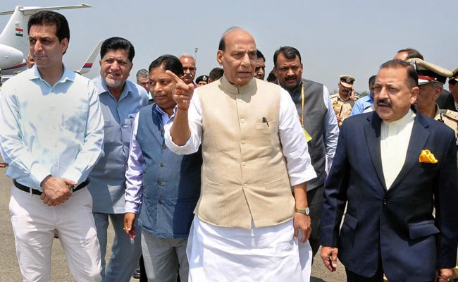 On Jammu And Kashmir, Rajnath Singh Says Peace Through 'Honest' Governance
