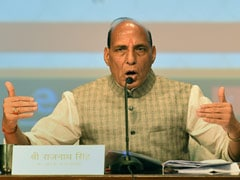 "TMC Leaders Stopped As They Created ""Unruly Situation"": Rajnath Singh"