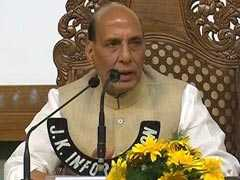 Modi Government Kashmir Policy Correct, Says Rajnath Singh