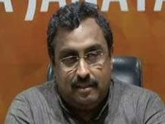 """India Has Become Confident, Knows How To Handle Doklams"": Ram Madhav"