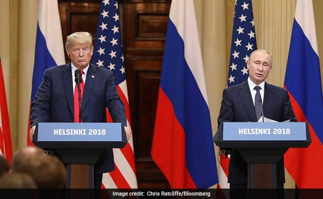 Trump Explains After Uproar Over Putin Meet. It Hinged Heavily On A Word