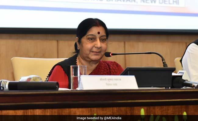 मोबाइल ऐप से किए जाने वाले पासपोर्ट आवेदनों का डाटा पूरी तरह सुरक्षित : सुषमा स्वराज