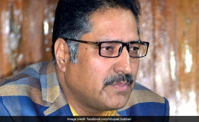 जम्मू कश्मीर : पत्रकार शुजात बुखारी हत्या मामले में पुलिस को मिली बड़ी कामयाबी