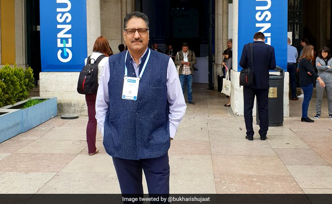 'Shujaat Bukhari Was Voice Of Moderation': Editors Guild Statement