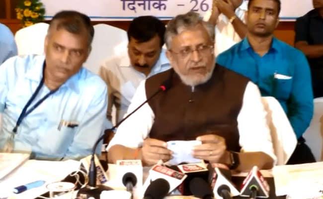 Votes In Bihar Will Be In Names Of Nitish Kumar, PM Modi: Sushil Modi