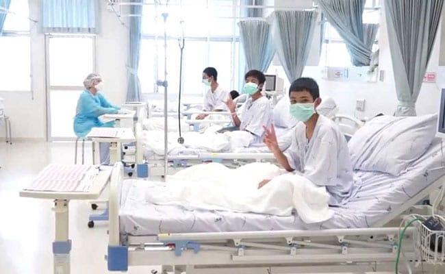 थाईलैंड में गुफा से बचाए गए बच्चों को गुरुवार को अस्पताल से मिलेगी छुट्टी