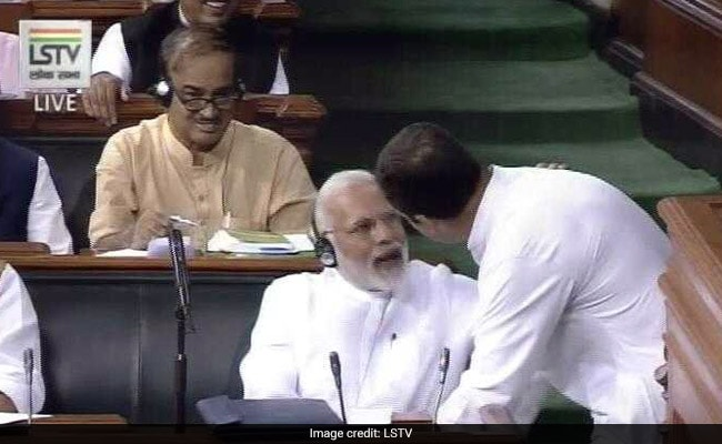 In PM Modi's Jabs At Rahul Gandhi In Trust Vote Speech, A Clear Strategy