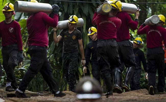 Officials To Evacuate Site As 'Perfect' Time For Thai Boys' Rescue Comes