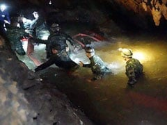 """12 Boys, Coach Missing In Thailand Caves """"Found Safe"""" After 9 Days"""