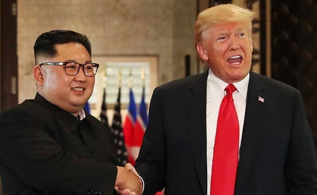 Trump Says Meeting Kim Has Helped World Avert 'Nuclear Catastrophe'