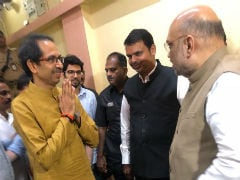 Amit Shah Dials Uddhav Thackeray, Sena To Vote With Government Tomorrow