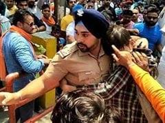 सिख पुलिस इंस्पेक्टर ने बचाई मुस्लिम युवक की जान, BJP विधायक बोले- हमें मस्जिद-मदरसे जाने का अधिकार नहीं तो वे यहां क्या करने आये थे