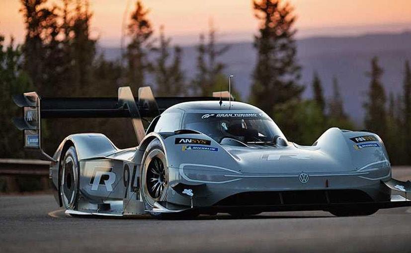 volkswagen idr pikes peak electric car