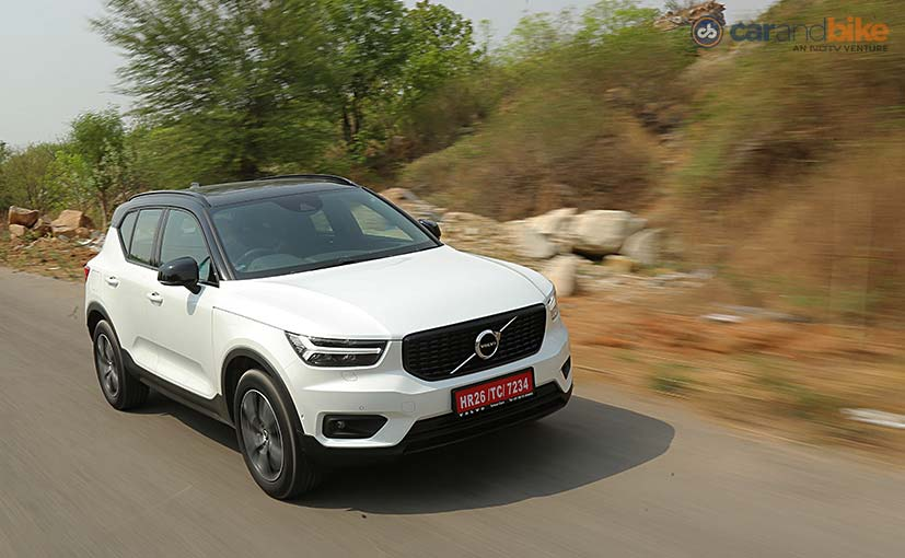 Volvo XC40 India Launch Highlights: Images, Price, Features, Engine Details