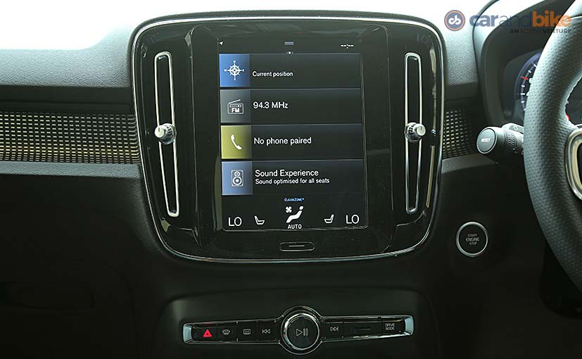 Volvo XC40: Key Features Explained In Detail - NDTV CarAndBike