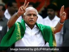 """100 Per Cent Sure"" Of Winning Vote Of Confidence, Says Chief Ministers Yeddyurappa"