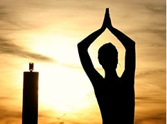 Indore Man Holds Yoga Session On Mountain, Creates World Record