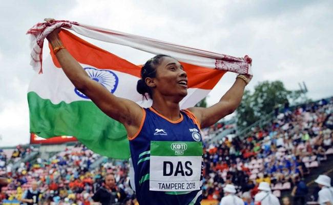 Image result for 18 वर्षीय एथलीट हिमा दास