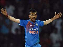 Watch: Yuzvendra Chahal Raises His Bat After Hitting First-Ever ODI Boundary