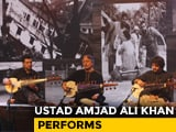 Video : Ustad Amjad Ali Khan Prays For Kerala With Enchanting Performance