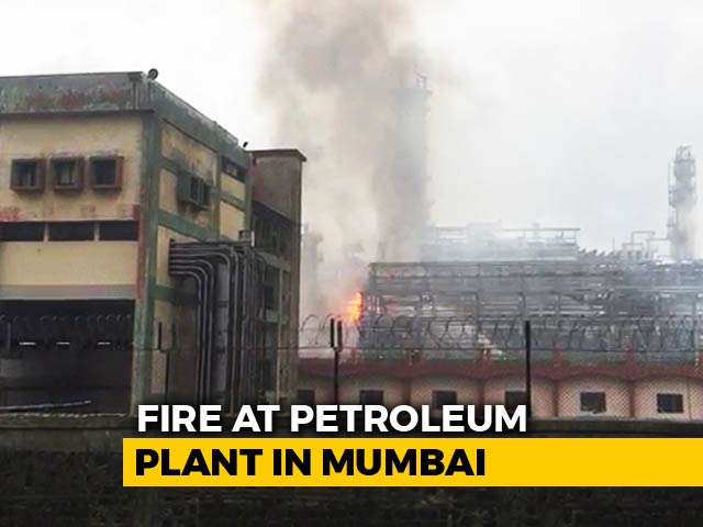 Video : 21 Injured In Massive Fire At Mumbai Oil Refinery, Explosions Heard
