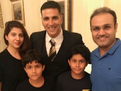 Akshay Kumar's Film Reviewed By Virender Sehwag: 'Sold On <i>Gold</i>'