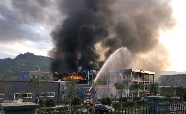 Blast In Chemical Plant In China Kills 19, Injures 12