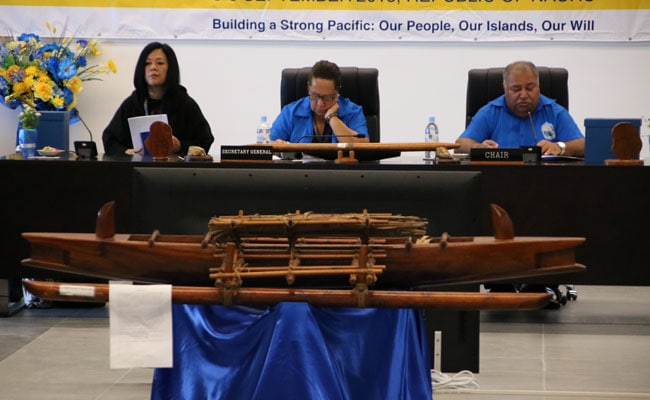 Walkout, Media Bust Ensure Fiery Start To Pacific Summit
