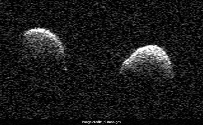 Pair of observatories confirm rare double asteroid