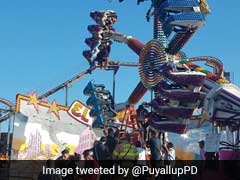 Gulp. Washington State Fair Ride Malfunction Leaves People Suspended Upside Down