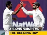 India vs England: Ashwin The Highlight Of The Day
