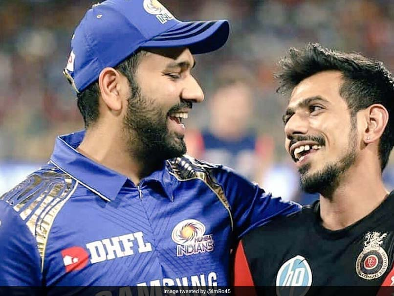 Rohit Sharma Asks Yuzvendra Chahal To Find His