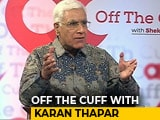 Video : Centre Tries Hard To Discourage Critical Opinion, Says Karan Thapar