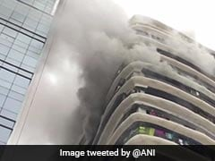 Fire At Apartments In Mumbai's Parel, Residents In Top Floor Rescued