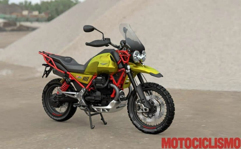 2019 moto guzzi v85 adventure bike revealed in photos ndtv carandbike. Black Bedroom Furniture Sets. Home Design Ideas