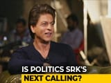 Video : No Politics For Shah Rukh Khan... But He Has A Party Symbol In Mind