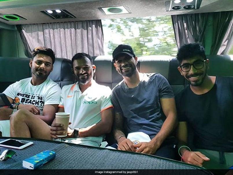 Jasprit Bumrah, Shikhar Dhawan, Rishabh Pant Enjoy Back Seat Ride On Team Bus